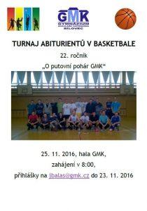 Basketbalový turnaj abiturientů