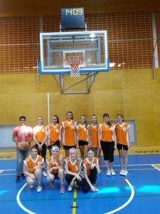 Basketbalový turnaj dívek v Příboře