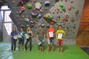 Závody středních škol v boulderingu