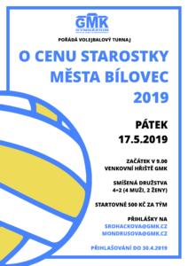 Volejbalový turnaj O cenu starostky Bílovce 2019