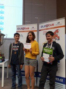 Eurorebus – krajské finále